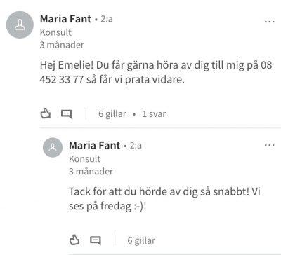 Maria Fant – Manpower