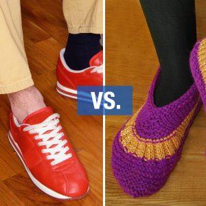 Vilka skor har du på jobbet?